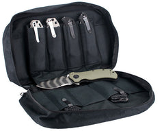 "Zero Tolerance ""Brag Bag"" Knife Storage Bag with 18 Pockets ZT997"