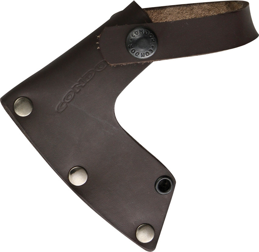"Condor Scout Hatchet 10.25"" Axe with American Hickory Handle and Leather Sheath"