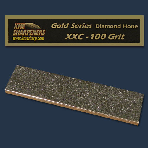 KME Gold Series XX-Coarse Diamond Hone 100 Grit