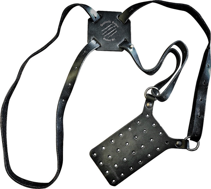 Bastinelli Universal Leather Shoulder Holster for Kydex Sheaths