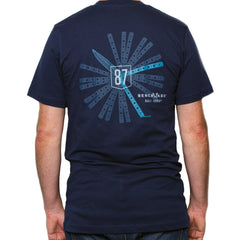 Benchmade Bali-Song Legend T-Shirt Blue - S/M/L