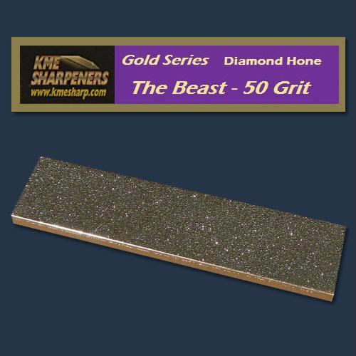 "KME Gold Series ""The Beast"" Diamond Hone 50 Grit"