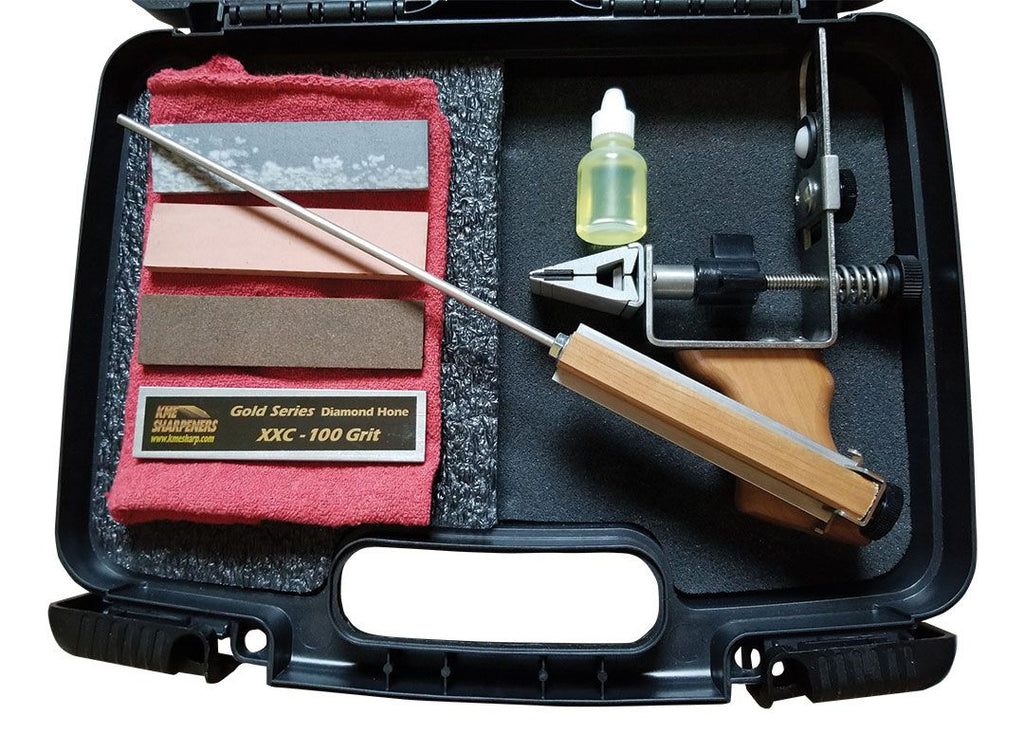 KME R.P.S.H. Combo Knife Sharpening Kit - RPSH: Repair-Profile-Sharpen-Hone