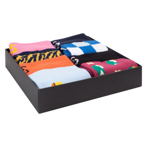 Cotton Sock Gift Box - Large (4 Pairs)