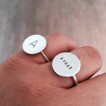 LOVE COIN RING