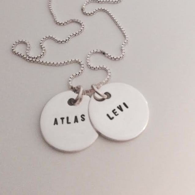 LOVE COIN NECKLACE   (2 COINS)