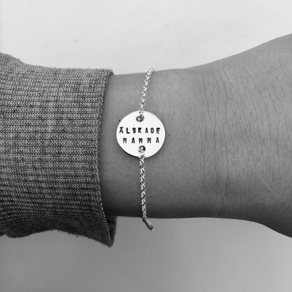 LOVE COIN BRACELET, 16 MM