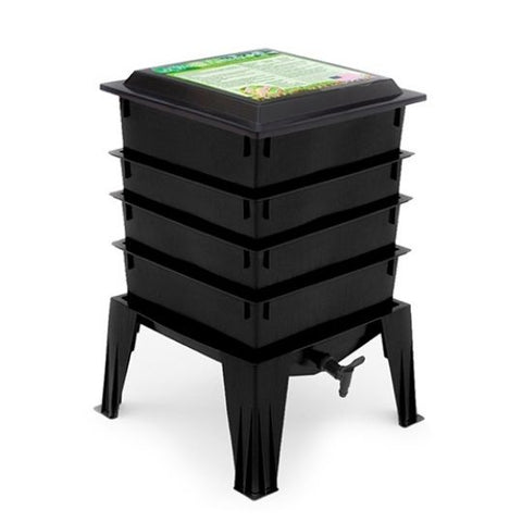 worm tower vermicomposting