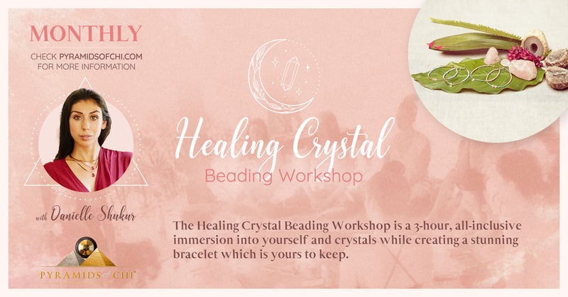 New event - Healing Crystal Beading Workshop