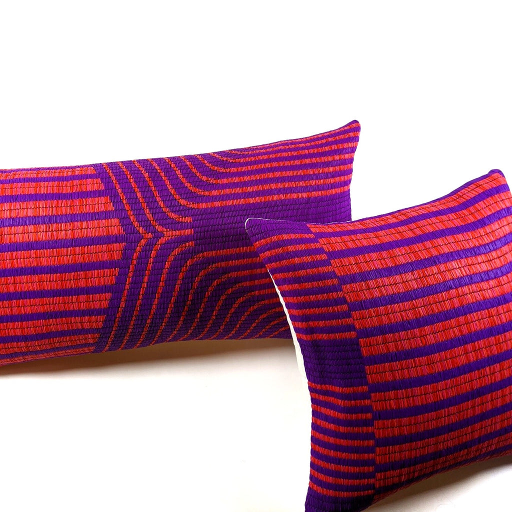 Mishna Lumbar Pillow Cover|  Limited Quantity Run
