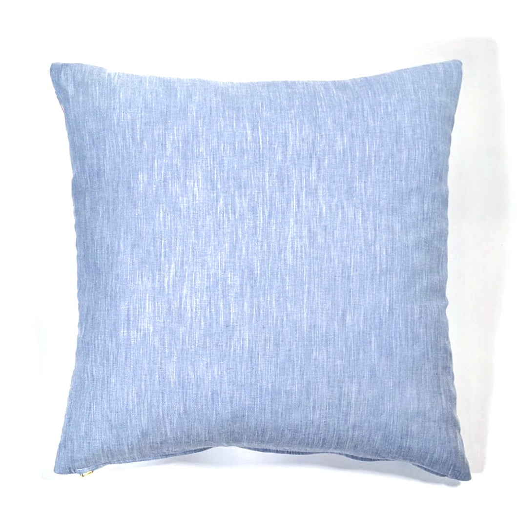 Noki Chambray Pillow Cover |  Limited Quantity Run