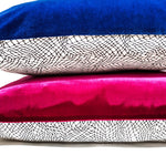 Vhasi Pillow Cover in Fuchsia |  Limited Quantity Run