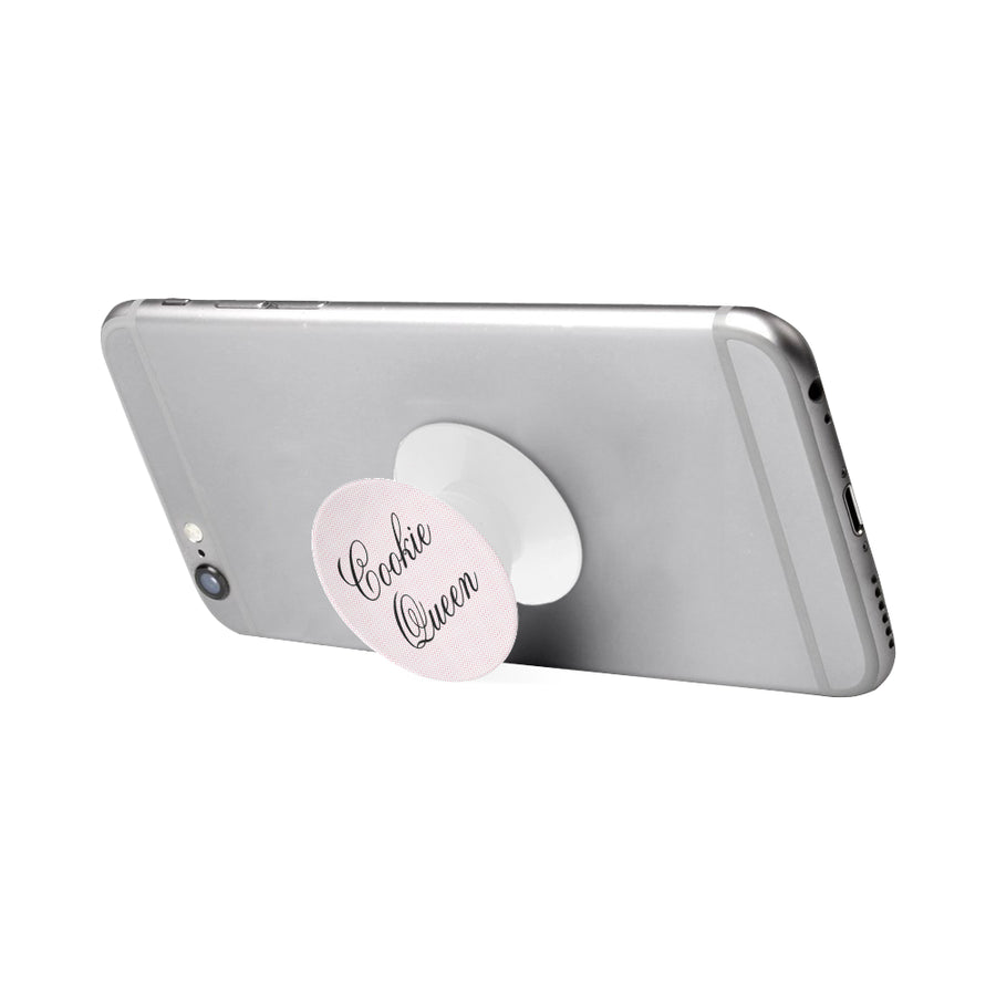 Cookie Queen Pink Dots Multi-function Cell Phone Stand