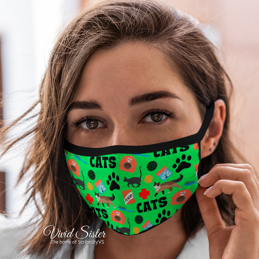 Animal Vet Face Mask Reusable Washable
