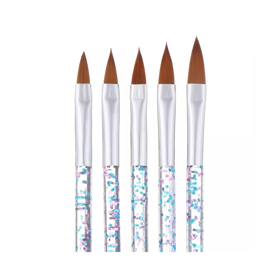 Glitter Brush set of 5