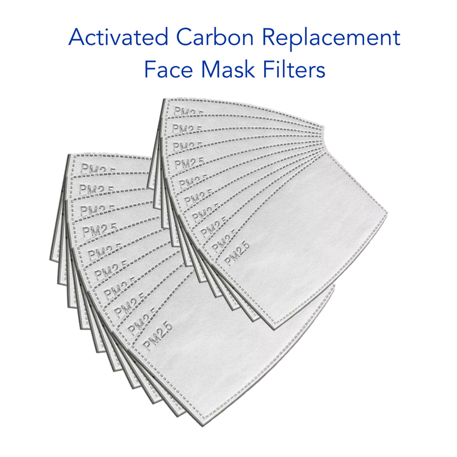 Face Mask Replacement Activated Carbon Filters