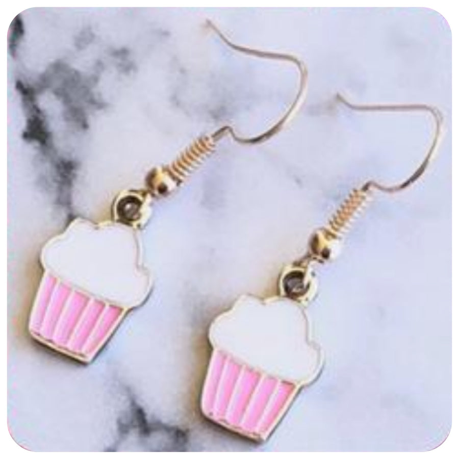 Baking Earrings