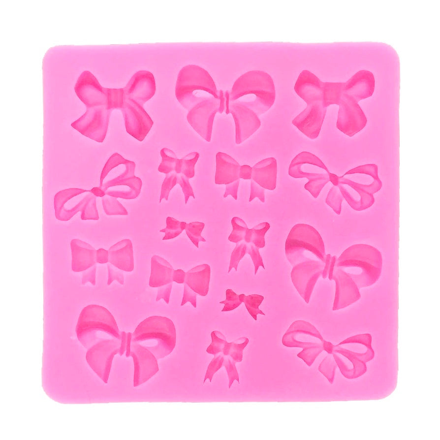Bows Silicone Mould Fondant
