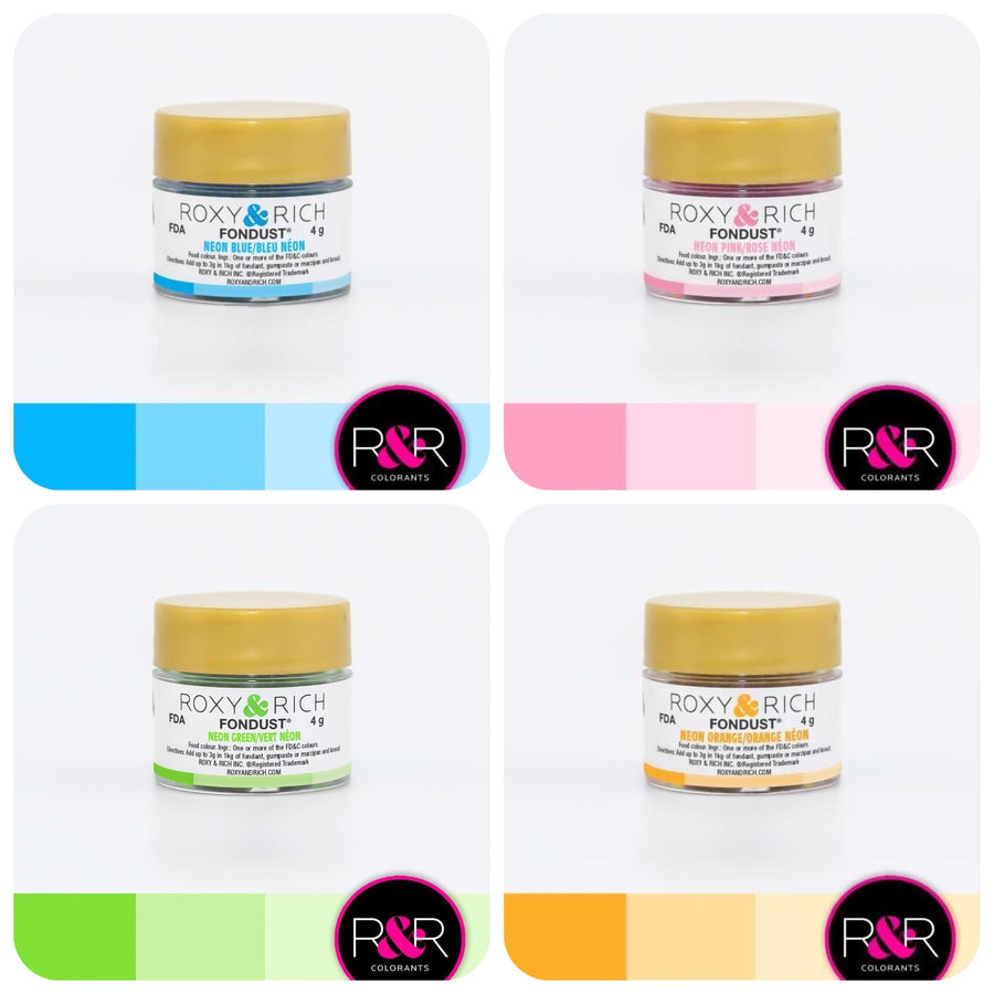 Neon Collection Fondust Dusting Colour