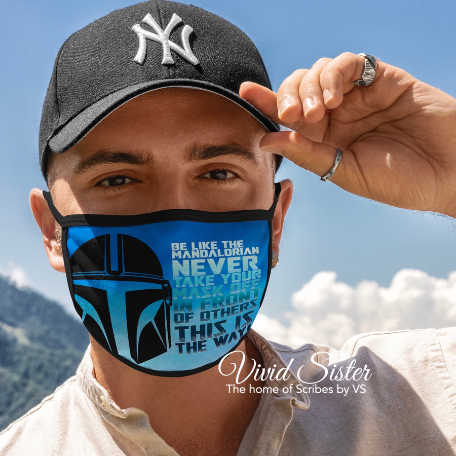 Never Take Your Mask Off Face Mask Reusable Washable