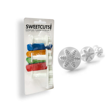 Snowflake Plunger Cutters - Sweetcuts