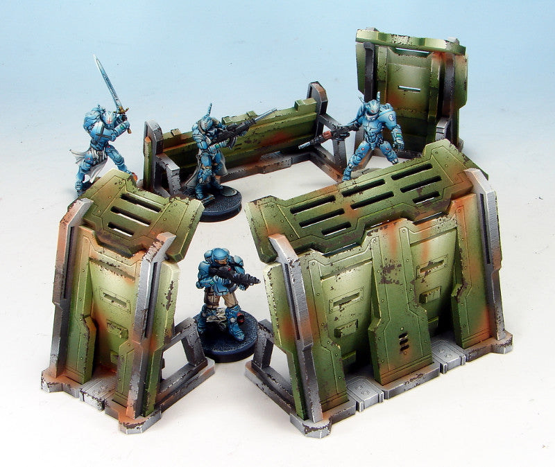 Painting Tutorial - Comanche Emplacements pt.1