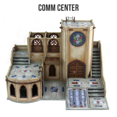 Alcazaba Comm Center assembly instructions