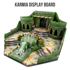 Alcazaba Karmia Display Board assembly instructions