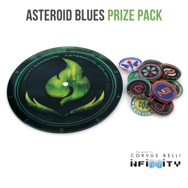 Asteroid Blues Prize Pack