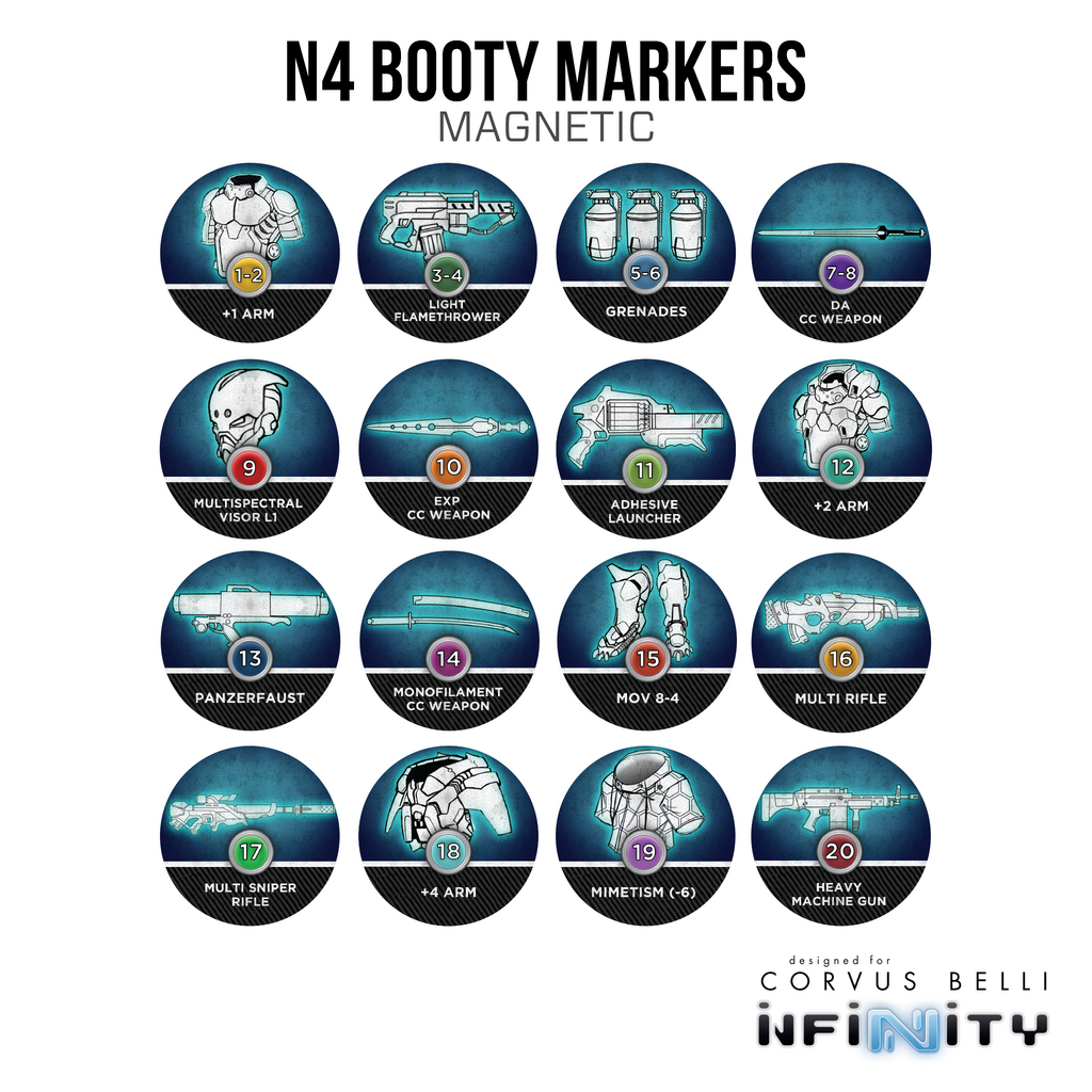 Magnetic Booty Markers
