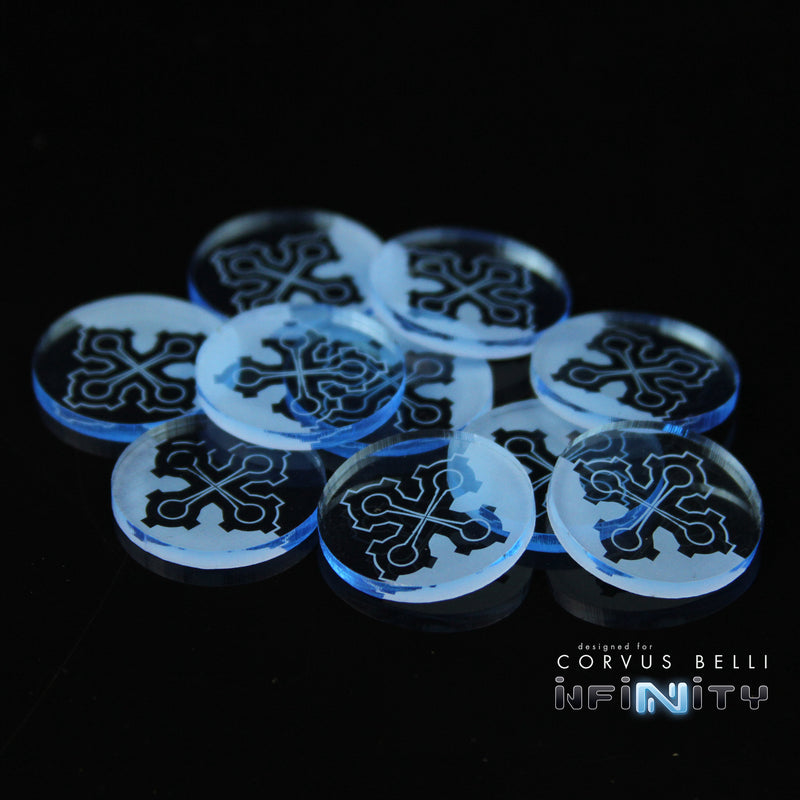 Infinity Faction Markers