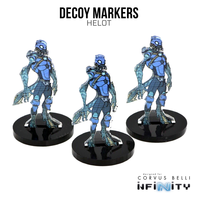 3D Holoprojector / Decoy Markers