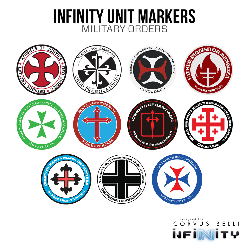 Military Orders Unit Marker Pack