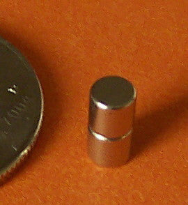 "Rare Earth Magnets For Terrain 1/8"" x 1/8"" (100 pcs.)"