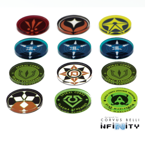 Spiral Corps Unit Markers