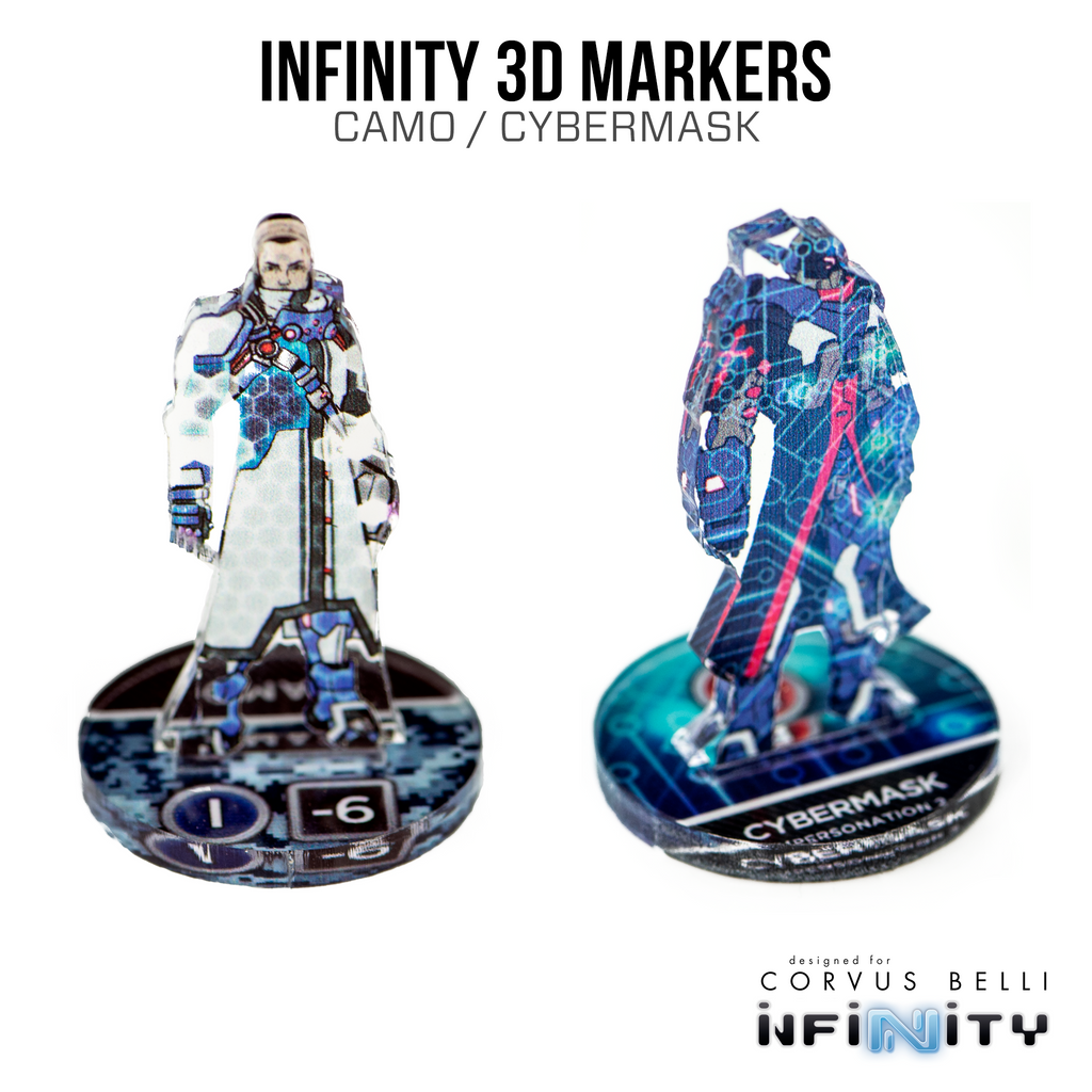 Infinity 3D Markers