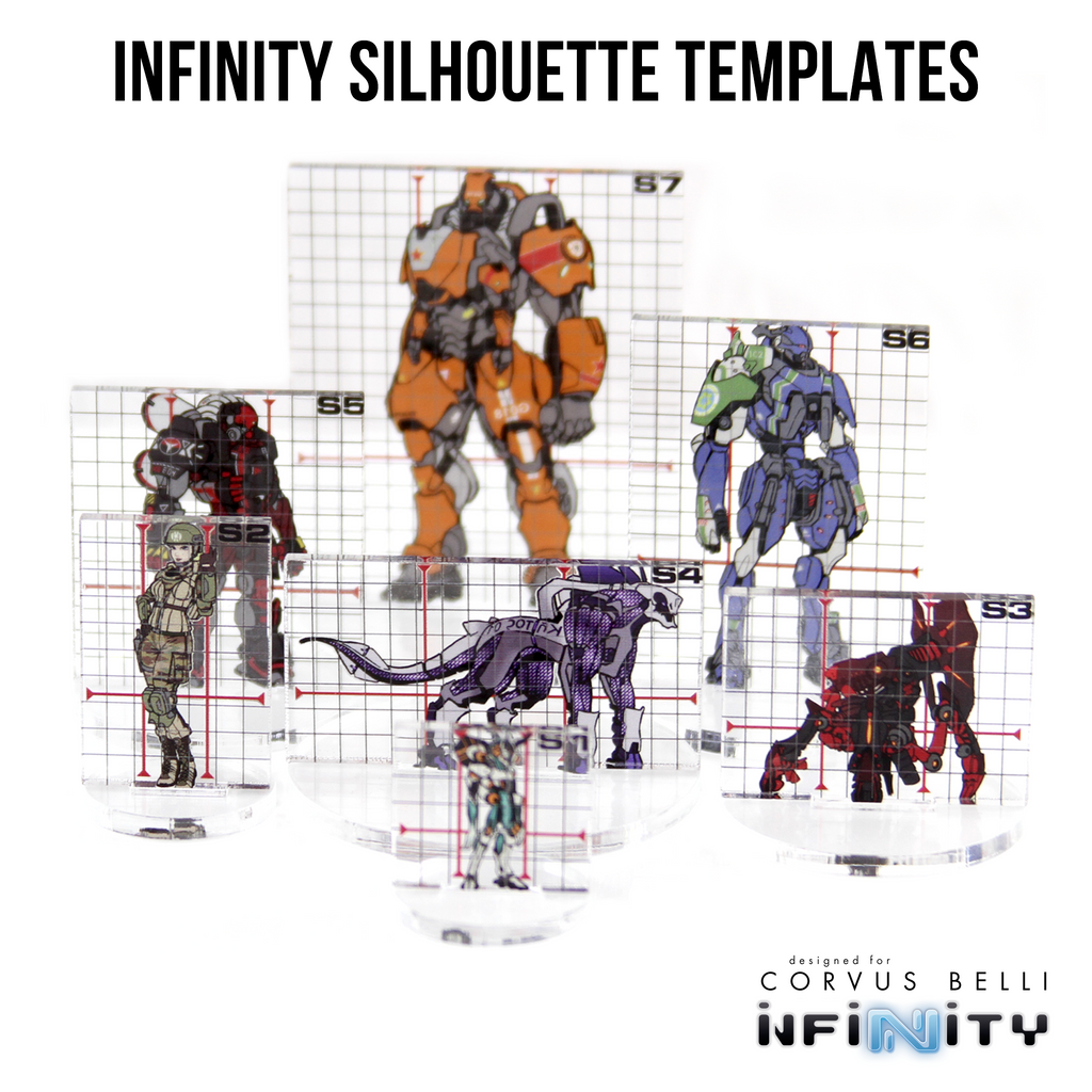 Infinity Silhouette Templates