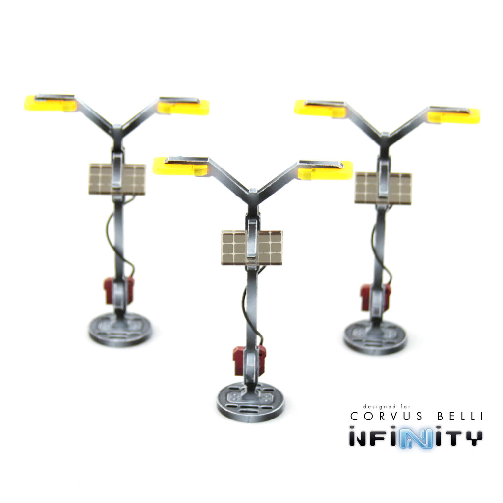 Comanche Tower Lamps