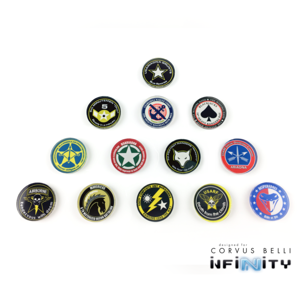 Infinity Full Color Unit Markers - Ariadna