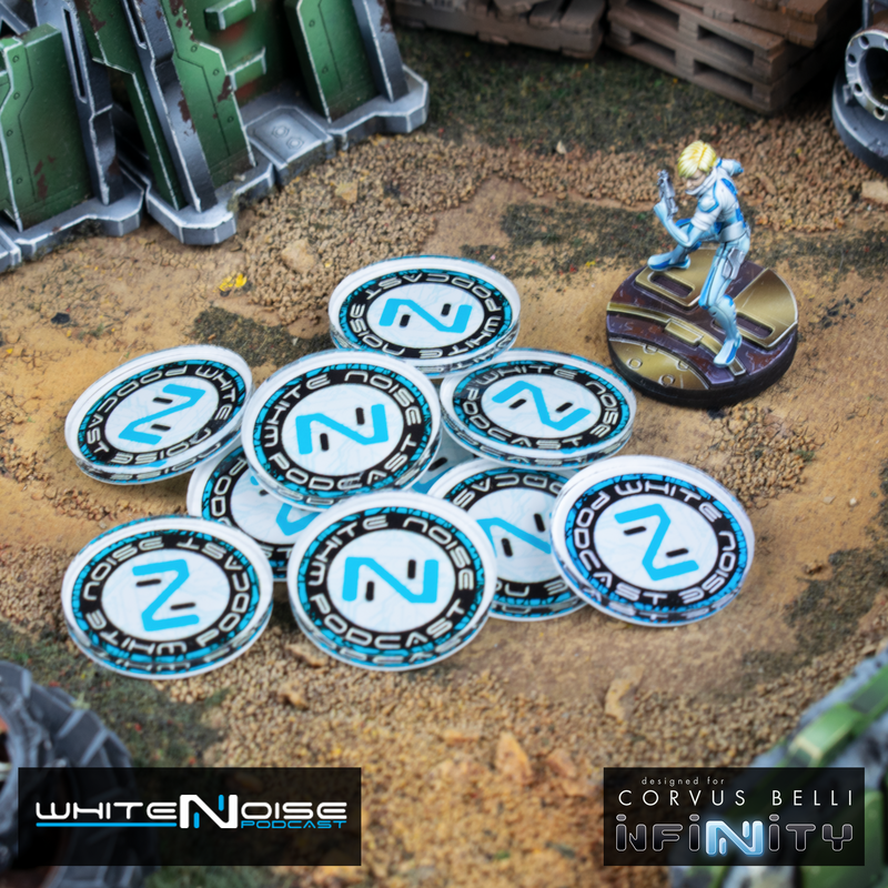 White Noise Support Markers