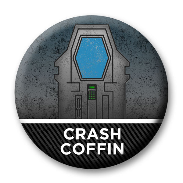 Magnetic Crash Coffin Marker