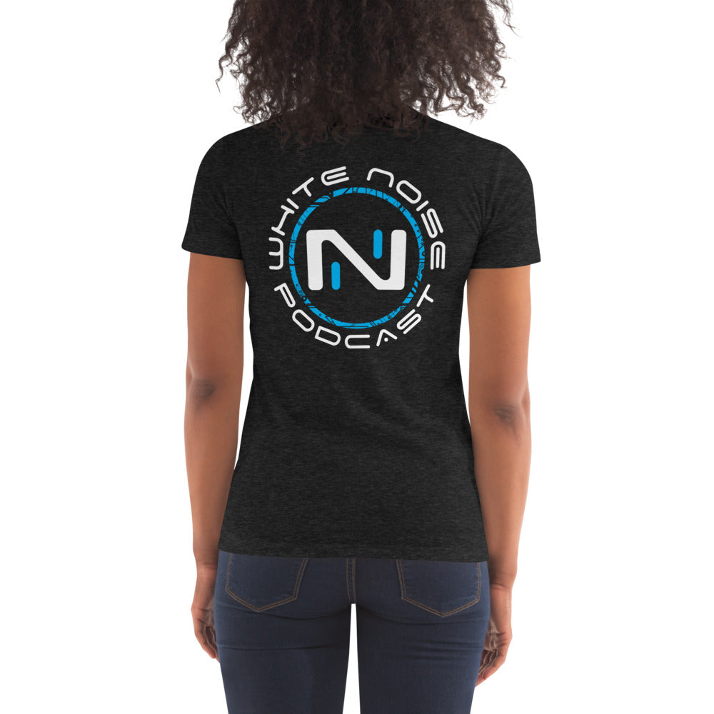 White Noise Women's Tri-Blend Crew Neck Tee