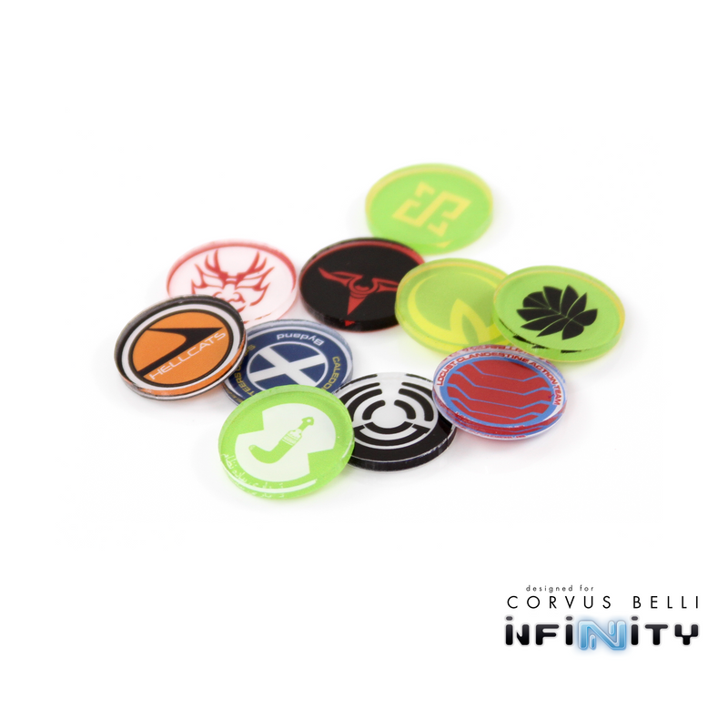 Infinity Full Color Unit Markers - Nomads