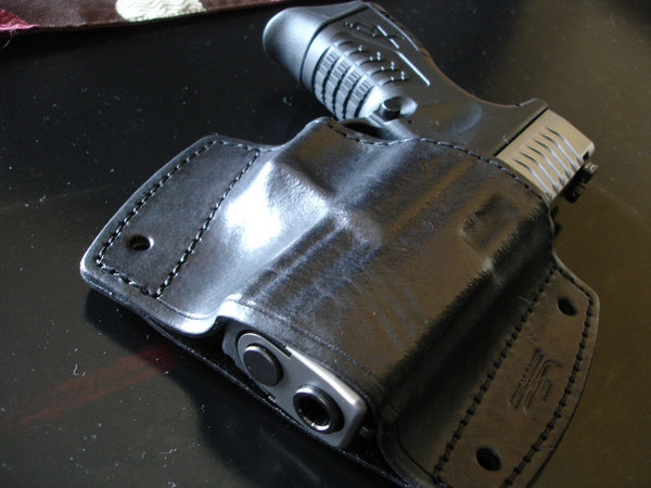 XD car holster springfield showing precise fit like a glove
