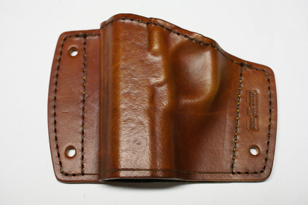 Kimber, Colt, Springfield, 1911 all models car holster all leather brown
