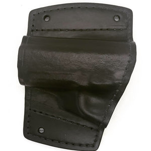 colt 1911 car holster all leather black with mounting kit