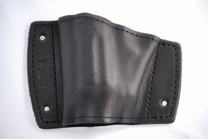 Car mountable holster top view for Taurus The Judge revolver