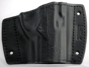 Leather car holster top view for Beretta PX4 Storm