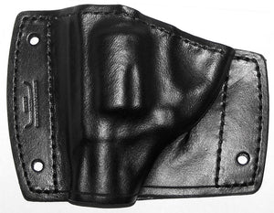 Revolver leather car holster