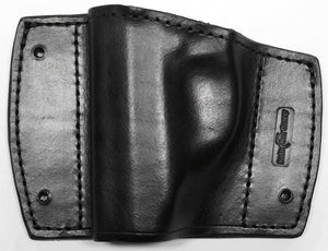 Leather holster for car, office, safe, studio, home - Walther PPK